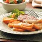 Pork Chops with Sweet Potato Recipe