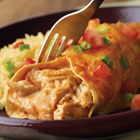 Campbell's(R) Easy Chicken and Cheese Enchiladas Recipe