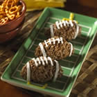 Kellogg's(R) Rice Krispies(R) Chocolate Nutty Mini-Football Treats(TM) Recipe