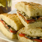 Grilled Mediterranean Vegetable Sandwich Recipe