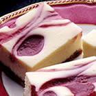 Strawberry Swirl Cheesecake Bars 91789