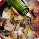 Clams, white wine