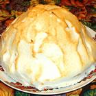 meringue ice cream dessert