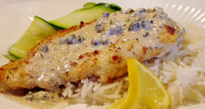 Chicken in Caper Cream Sauce