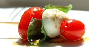 Bite-Sized Caprese Salads