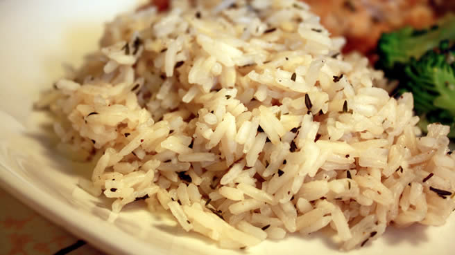 Easy rice recipes for fish