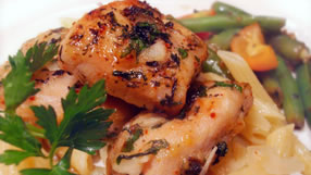 Bessy's Zesty Grilled Garlic-Herb Chicken healthy