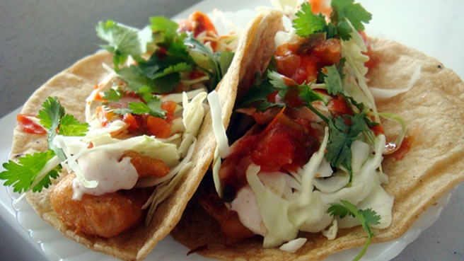 Authentic mexican fish tacos recipe for How to cook cod for fish tacos