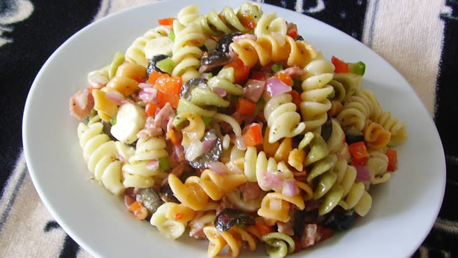 Cold pasta recipes with olive oil