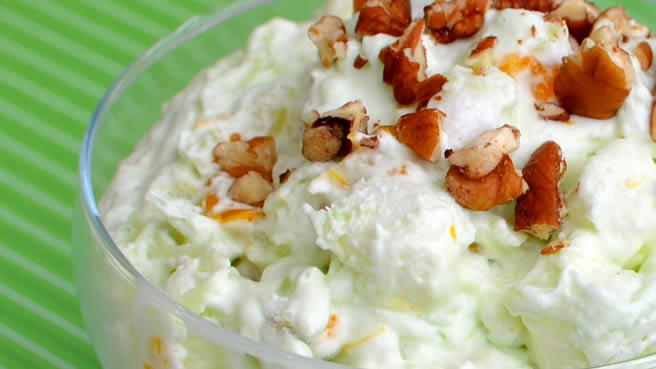 Pistachio Fluff Fruit Salad