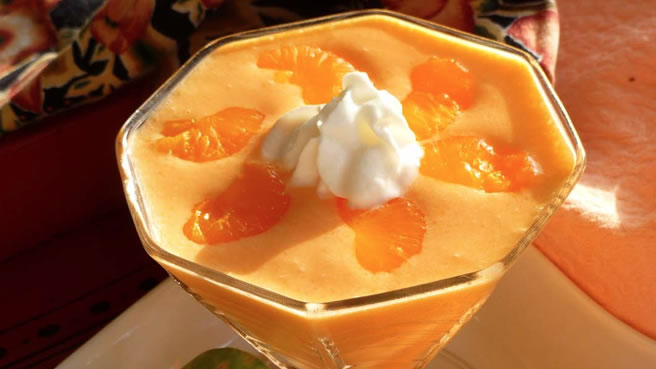 Orange Sherbet Salad II