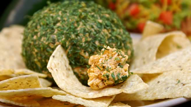 Tailgating Spicy Taco Cheeseball