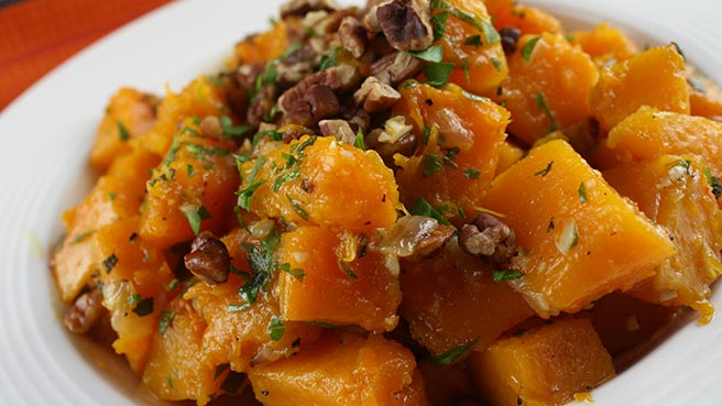 butternut squash with onions and pecans wonderful recipe for squash a ...