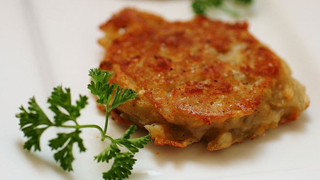 Cheesy Potato Cakes