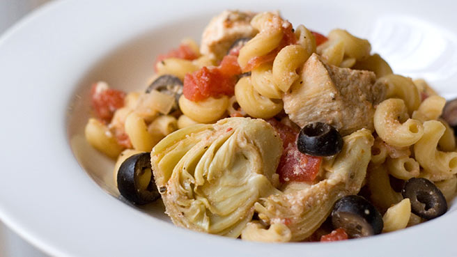 Pasta with chicken recipes healthy