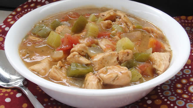 Gumbo Style Chicken Creole
