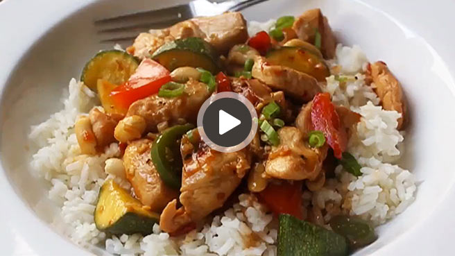 Spicy Kung Wow Chicken Video