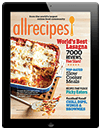 Subscribe to Allrecipes Magazine: Digital Edition for iPad®