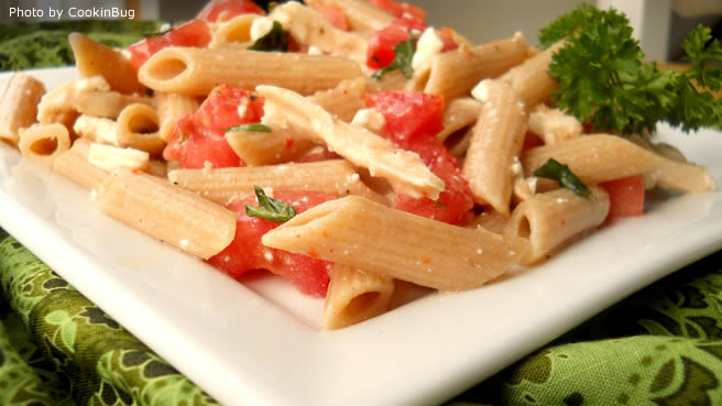 Delicious chicken pasta salad recipe