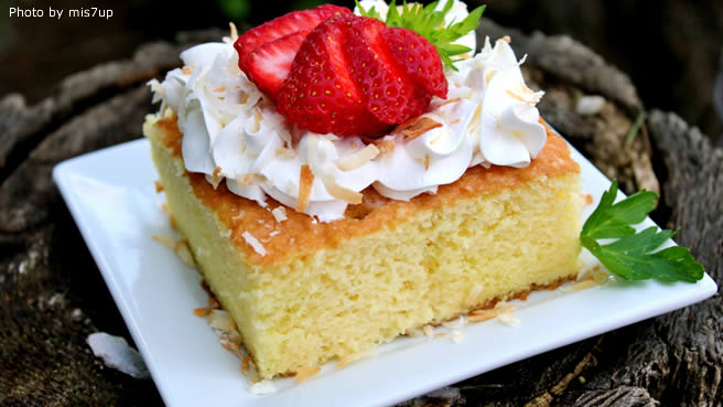 Pastel de Tres Leches (Three Milk Cake)