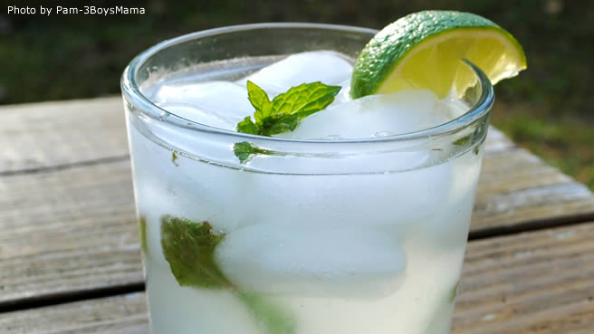 Mixing Drinks With Chocolate Mint Rum