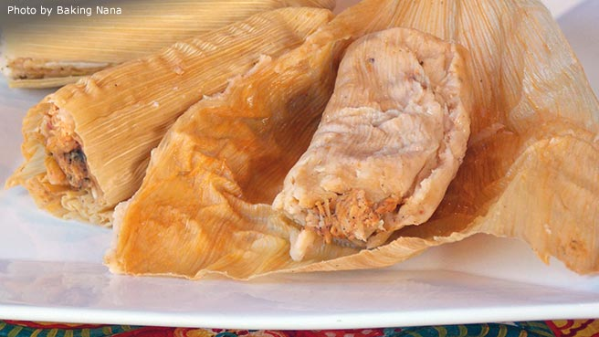 Sylvia's Pork Tamales