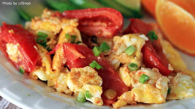 Tomato and Egg Stir-Fry