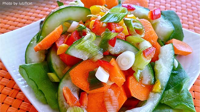Cucumber-Carrot Salad