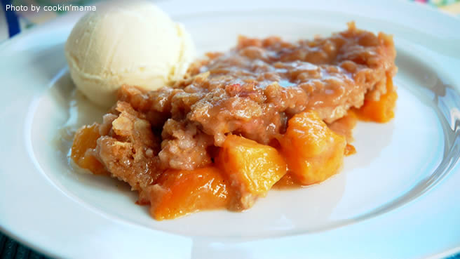 Juicy Peach Crisp