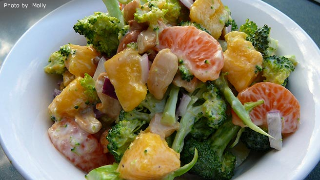 Broccoli Mango Salad