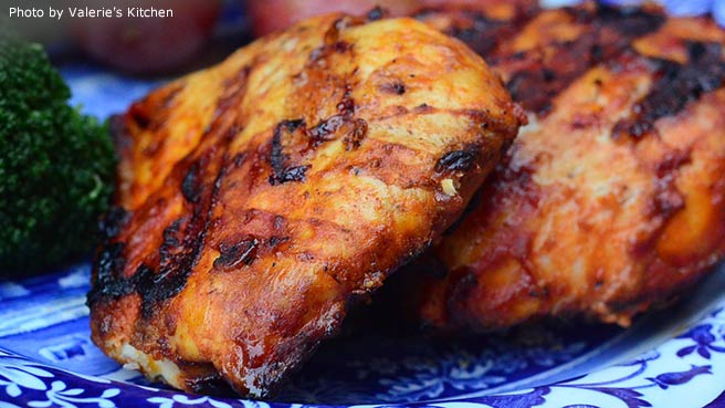 Whole barbecued chicken recipe