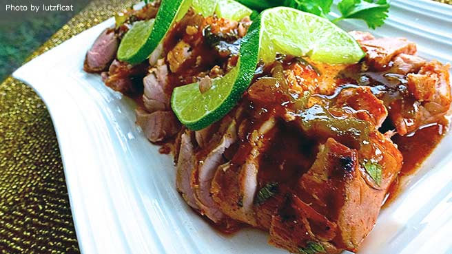 Tequila-Lime Pork Tenderloin