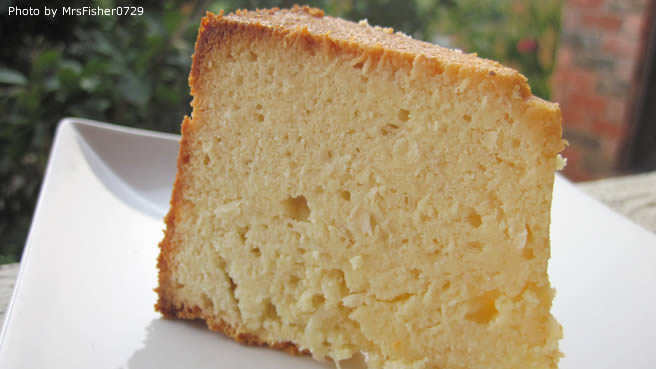 Coconut Cream Pound Cake Recipe Kraft