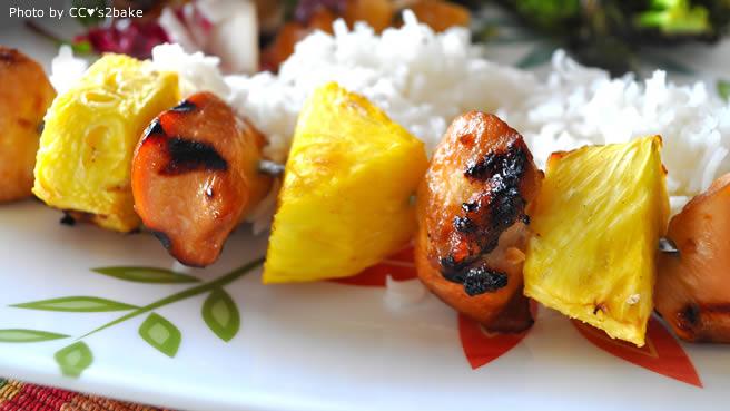 polynesian chicken recipe food network