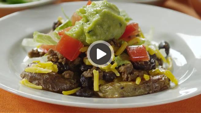 Mexican Potato Nachos