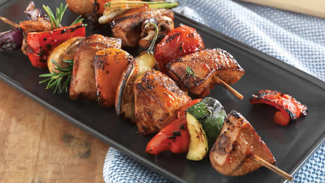Make-It-Mine Pork Kabobs