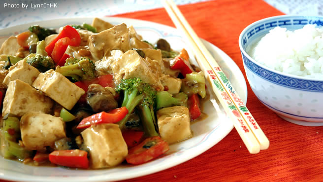 Tofu and Veggie Stir-fry
