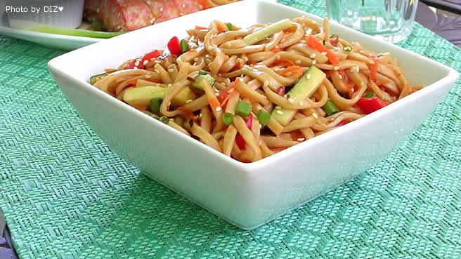 Spicy Shrimp Noodle Bowl Recipe | MyRecipes