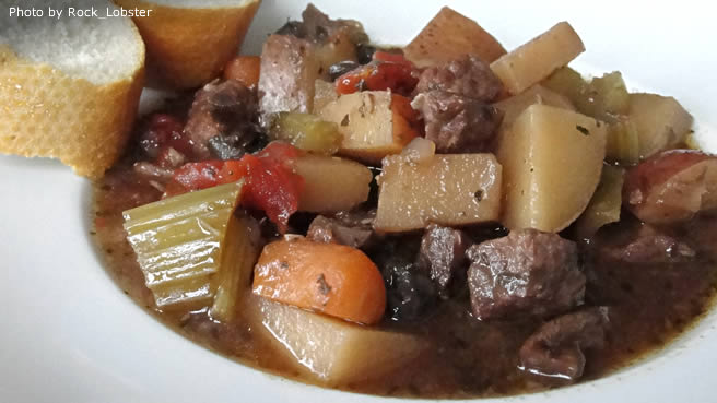 Northern Italian Beef Stew