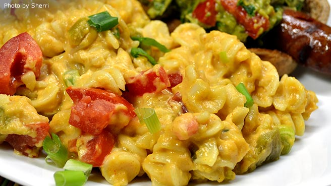 South-of-the-Border Mac and Cheese