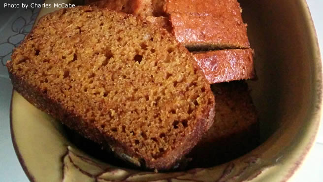 Downeast Main Pumpkin Bread