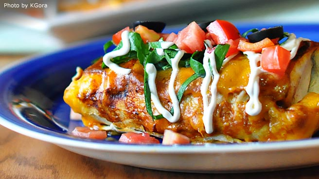 HERDEZ® Creamy Pasilla Enchiladas