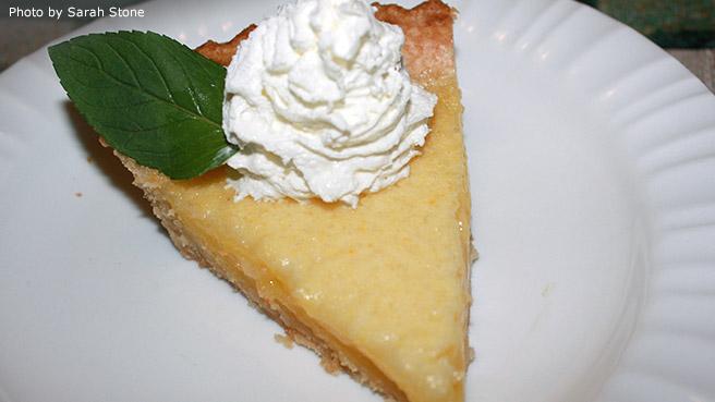 Meyer Lemon Pie