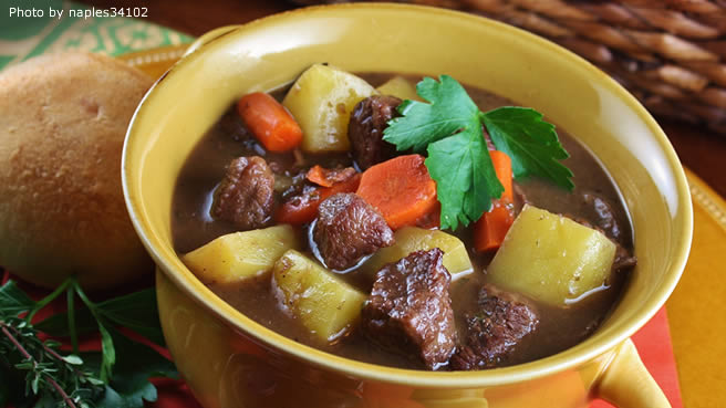 Jennifer's Burgundy Beef Stew