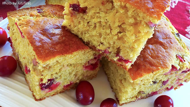 Cranberry Corn Bread