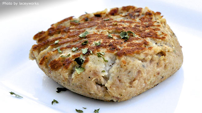 Easy fish patty recipe