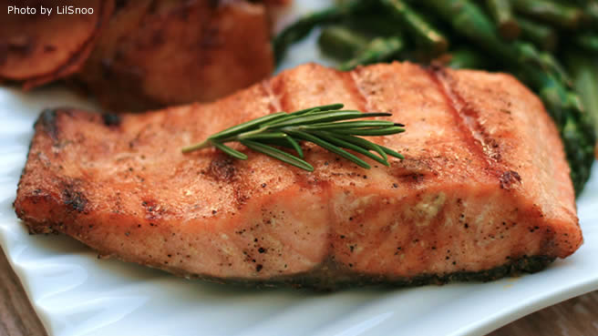 Maple Cardamom Salmon