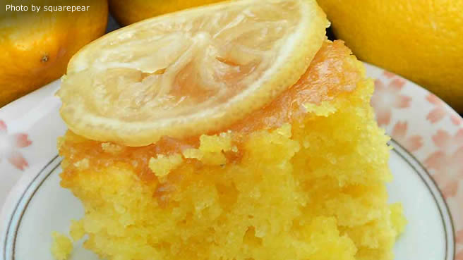 Triple Lemon Cake