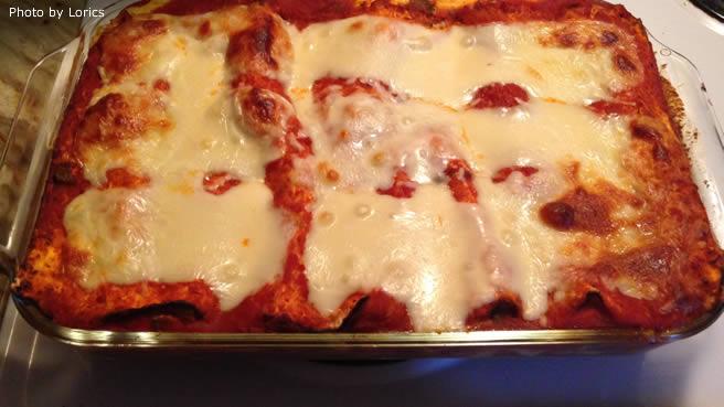 Passover Matzo Lasagna