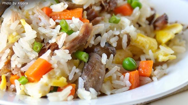 Easy recipe for leftover rice